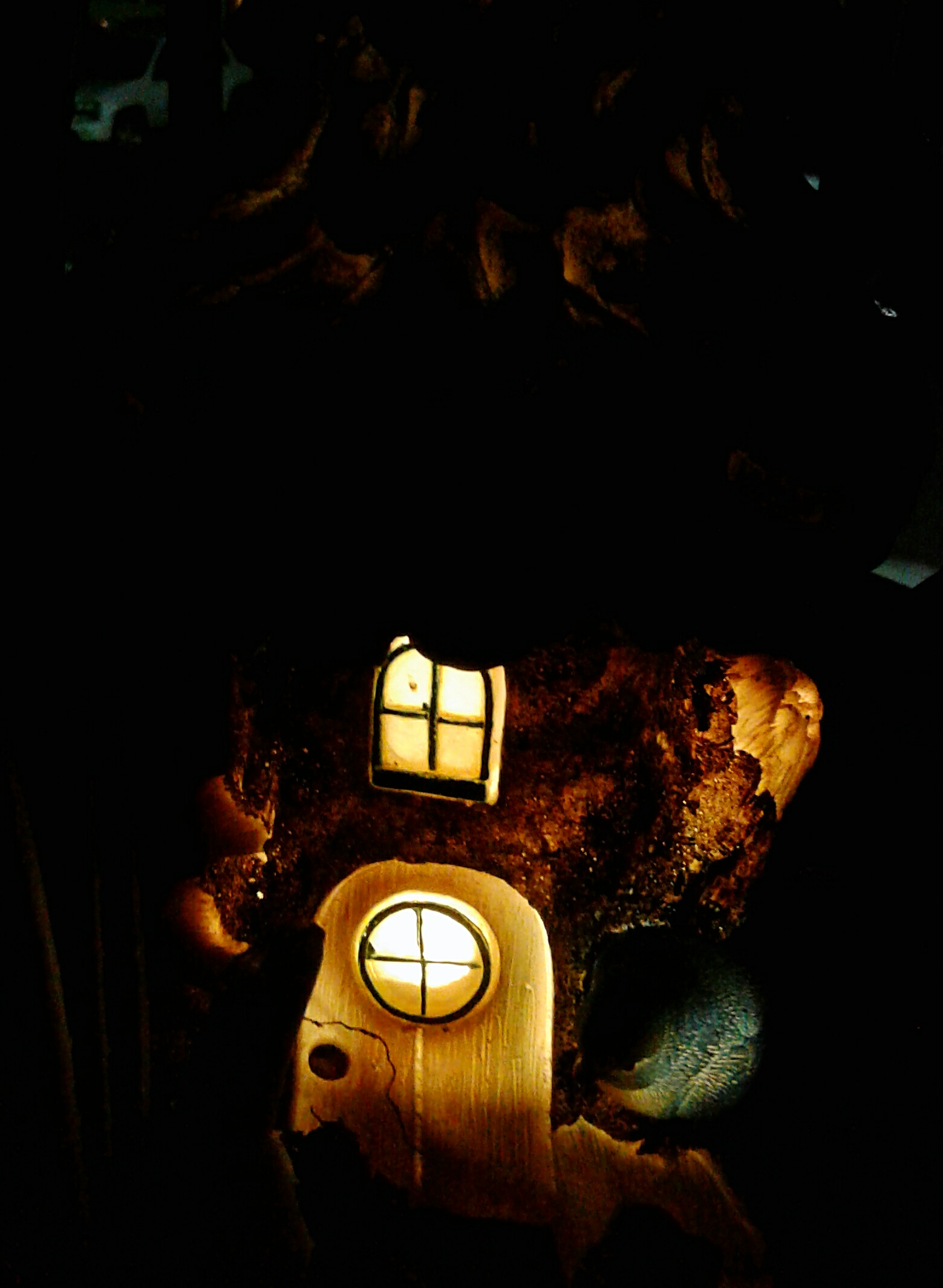 Ordinaire Now You Can Enjoy The Gentle Glow Coming From The Inside Of Your Beautiful  Fairy House. Soft, Solar Powered Lighting Brings Your Fairy House To Life  Like ...